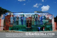 Karlisima_And_her_Mother_Mama_Ayesaha's_Restaurant_Presidential_Mural