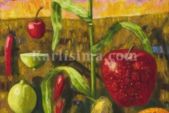 corn_and_flower_and_flying_fruits