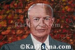President_Eisenhower_Detail_Mama_Ayesha's_Restaurant_Presidential_Mural